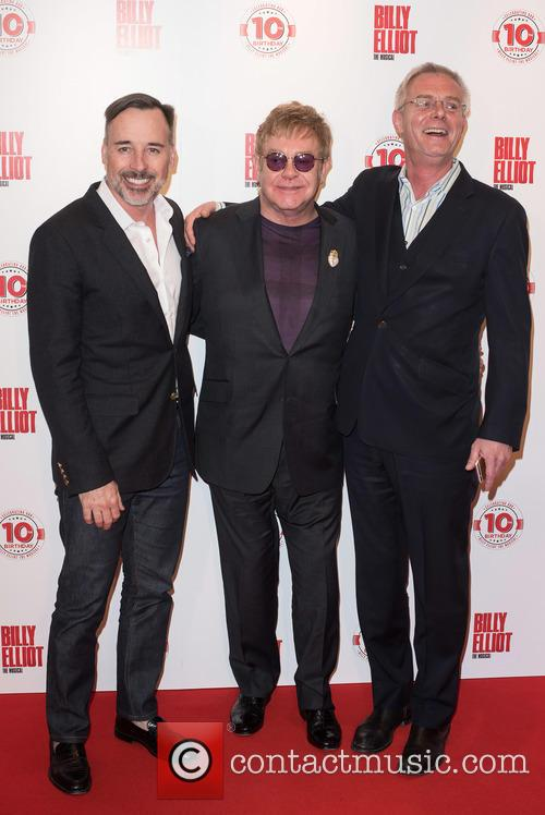 David Furnish, Stephen Daldry and Elton John 9