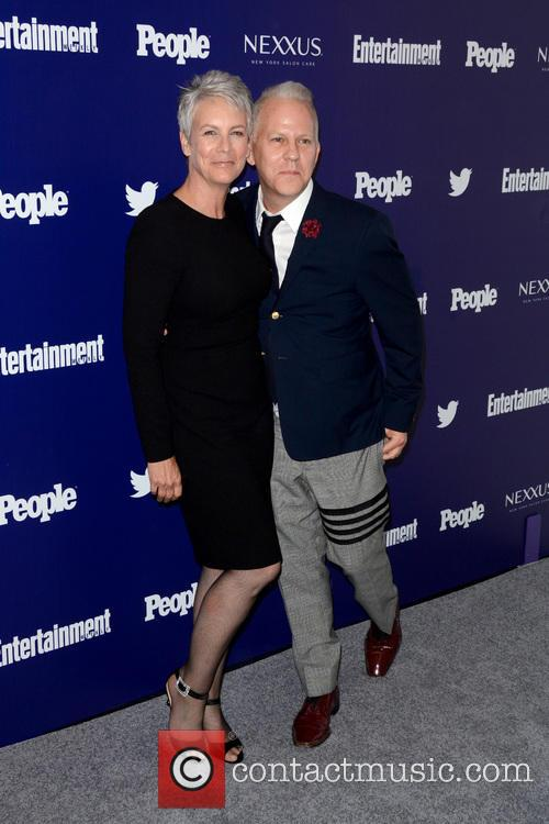 Jamie Lee Curtis and Ryan Murphy 2