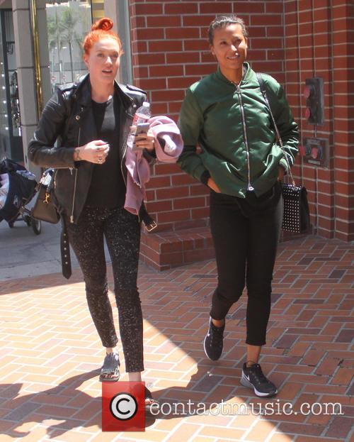 Icona Pop go shopping in Beverly Hills