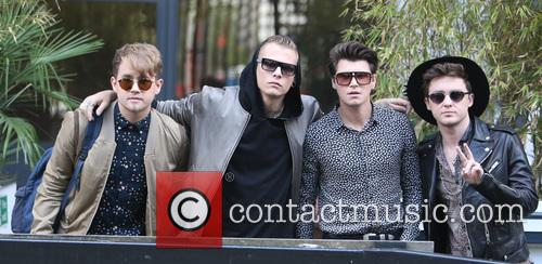 Rixton, Jake Roche, Charley Bagnall, Danny Wilkin and Lewi Morgan 2