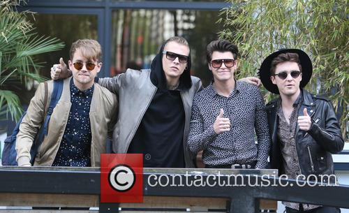 Rixton, Jake Roche, Charley Bagnall, Danny Wilkin and Lewi Morgan 3