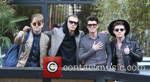 Rixton, Jake Roche, Charley Bagnall, Danny Wilkin and Lewi Morgan 4