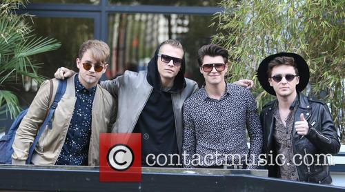 Rixton, Jake Roche, Charley Bagnall, Danny Wilkin and Lewi Morgan 1