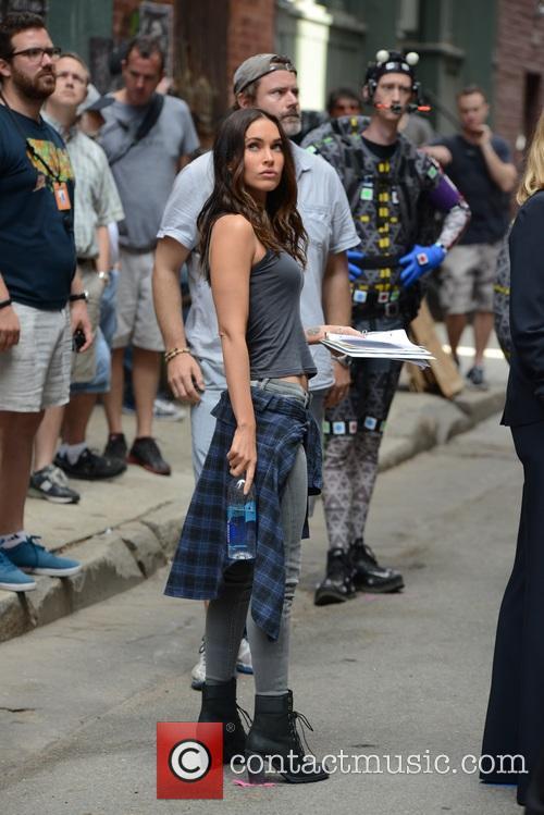 Megan Fox and Will Arnett 2