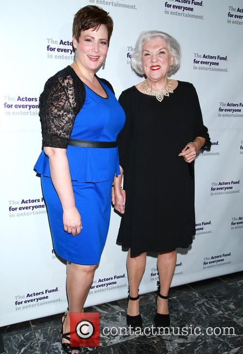 Lisa Howard and Tyne Daly