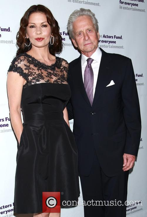 Catherine Zeta-jones and Michael Douglas 7