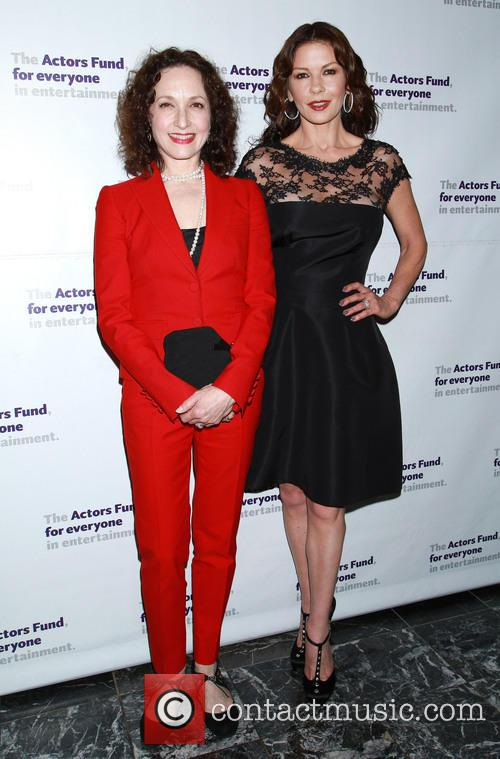 Bebe Neuwirth and Catherine Zeta-jones 1