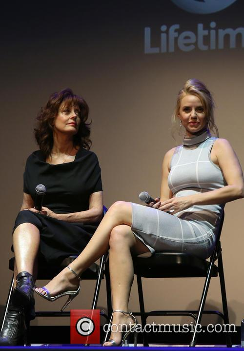 Susan Sarandon and Kelli Garner 2