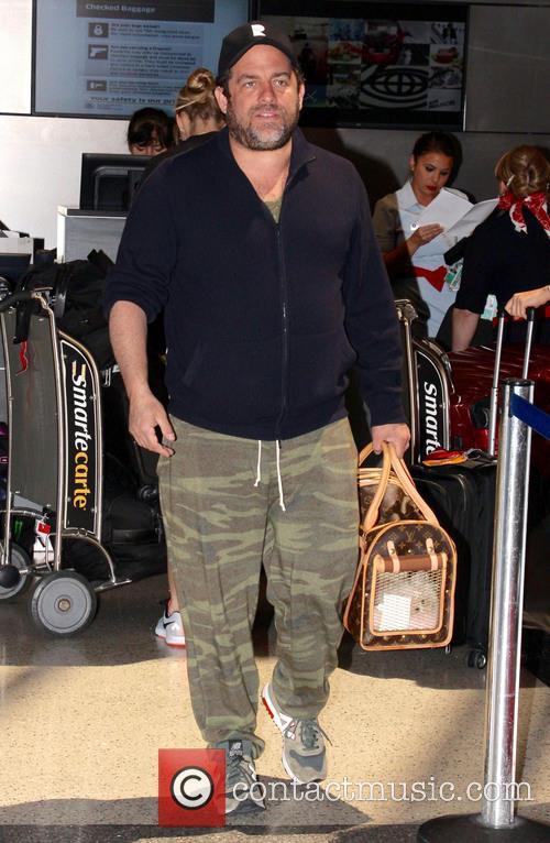 Brett Ratner arrives at Los Angeles International (LAX)...