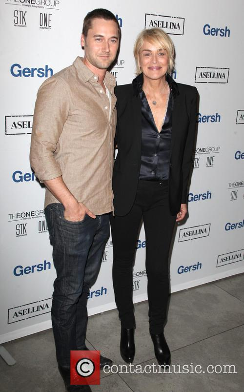 Ryan Eggold and Sharon Stone 6