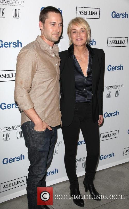 Ryan Eggold and Sharon Stone 7