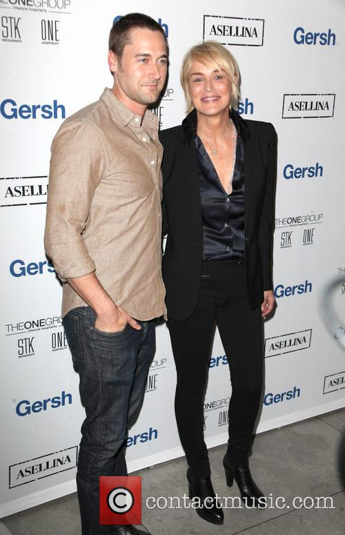 Ryan Eggold and Sharon Stone 8