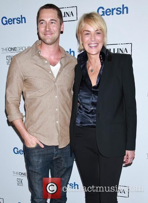Ryan Eggold and Sharon Stone 5