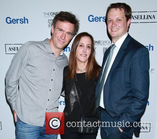 Jack Davenport, Leslie Siebert and Guest 4