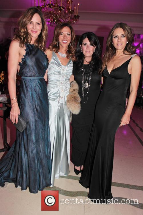 Trinny Woodall, Heather Kerzner, Monica Lewinsky and Elizabeth Hurley 1