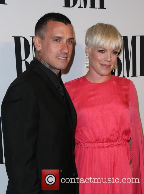 Carey Hart, P!nk and Alecia Moore 2