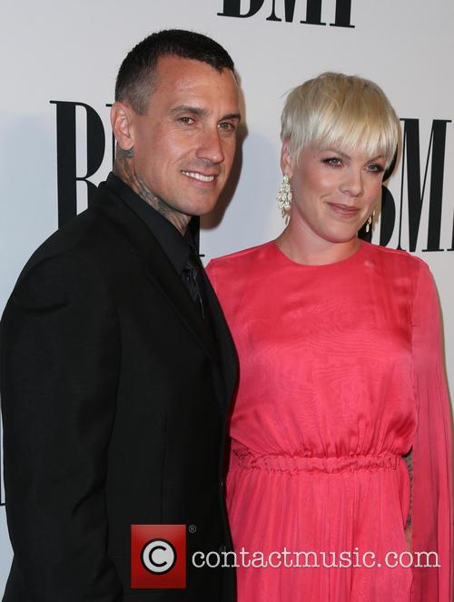 Carey Hart, P!nk and Alecia Moore 3
