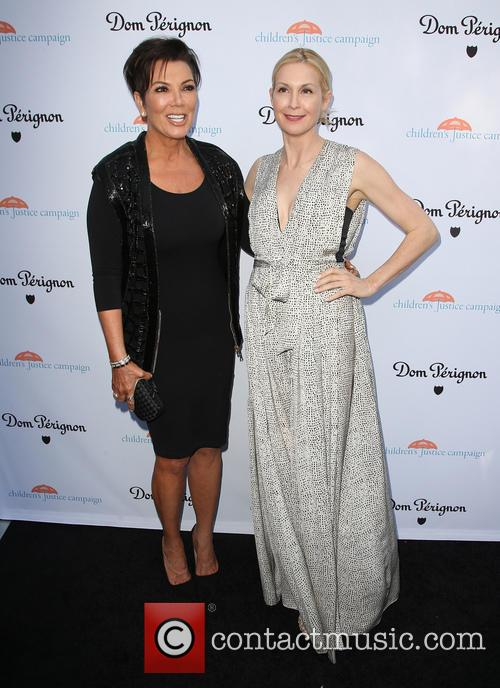 Kris Jenner and Kelly Rutherford 10