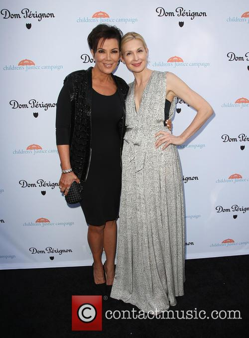 Kris Jenner and Kelly Rutherford 1