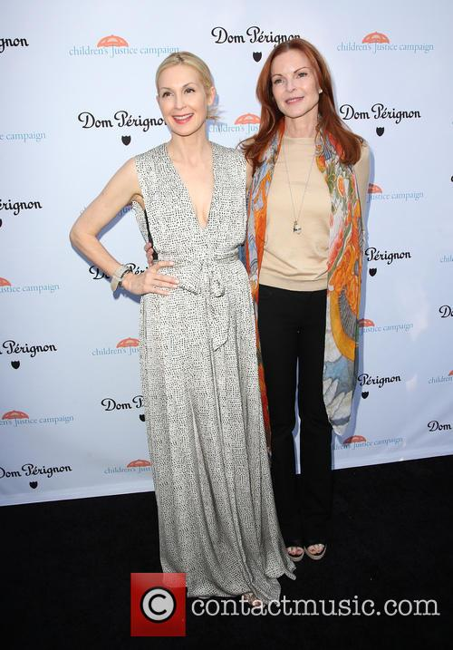Kelly Rutherford and Marcia Cross