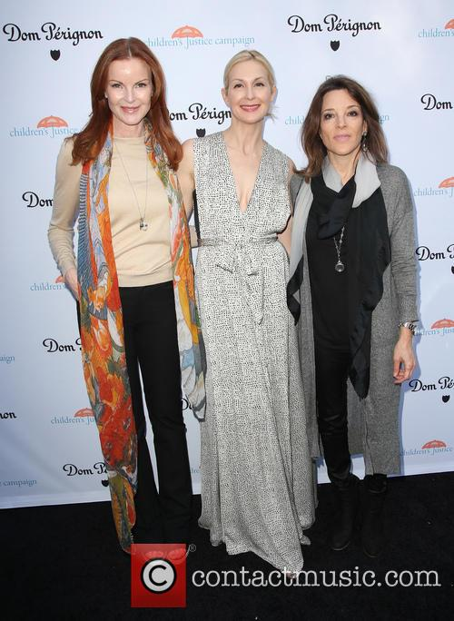 Marcia Cross, Kelly Rutherford and Marianne Williamson 2