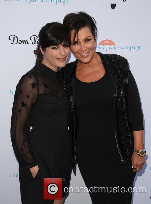 Selma Blair and Kris Jenner 1