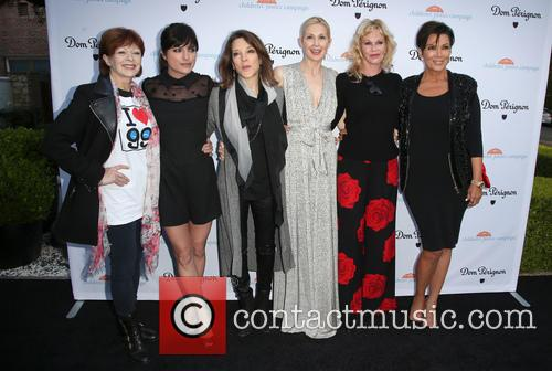 Frances Fisher, Selma Blair, Marianne Williamson, Kelly Rutherford, Melanie Griffith and Kris Jenner 3
