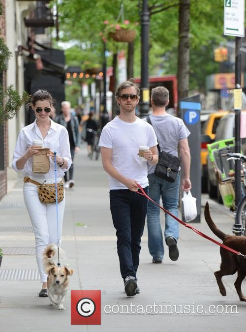 Anne Hathaway and Adam Shulman 2