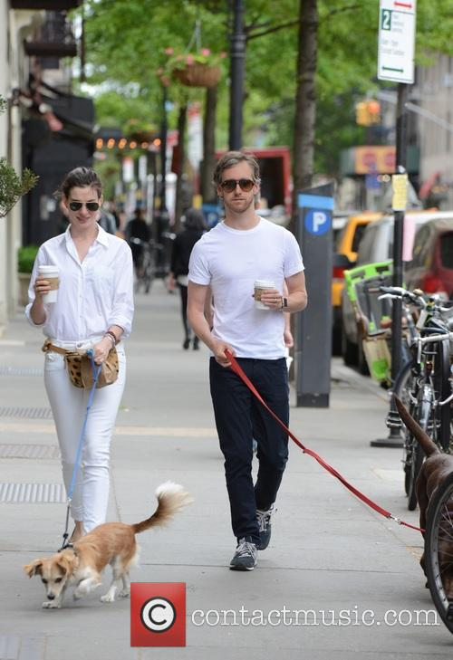 Anne Hathaway and Adam Shulman 5