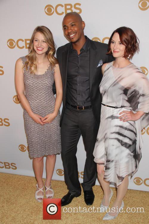 Melissa Benoist, Mehcad Brooks and Chyler Leigh 4