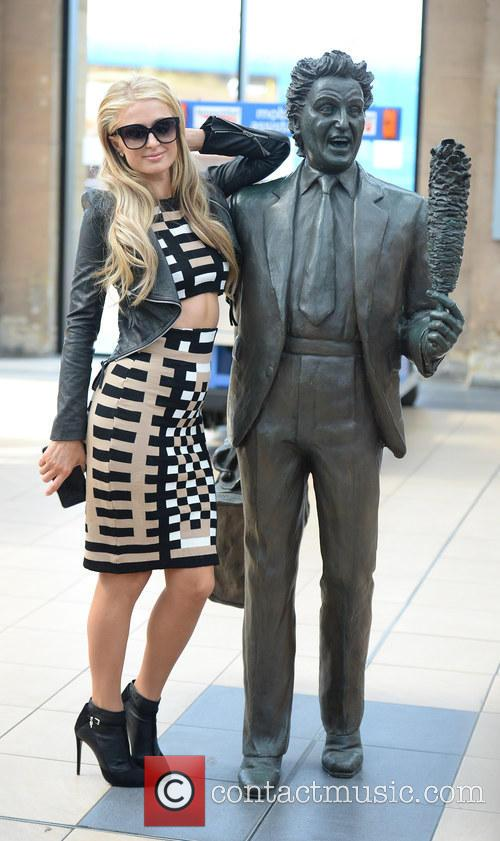 Paris Hilton and Ken Dodd
