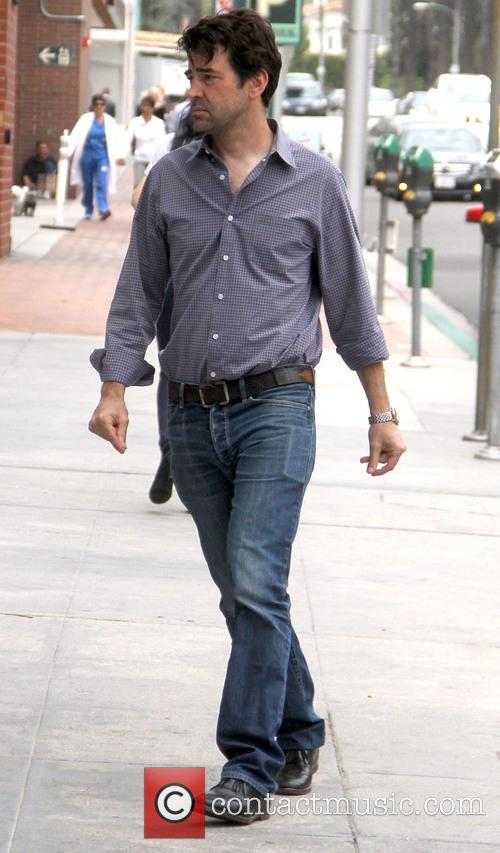 Ron Livingston out and about running errands