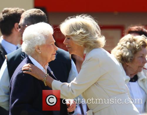 Queen Elizabeth Ii and Camilla Duchess Of Cornwall 9
