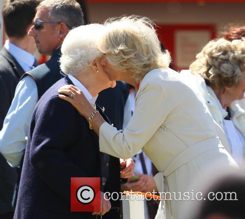 Queen Elizabeth Ii and Camilla Duchess Of Cornwall 10