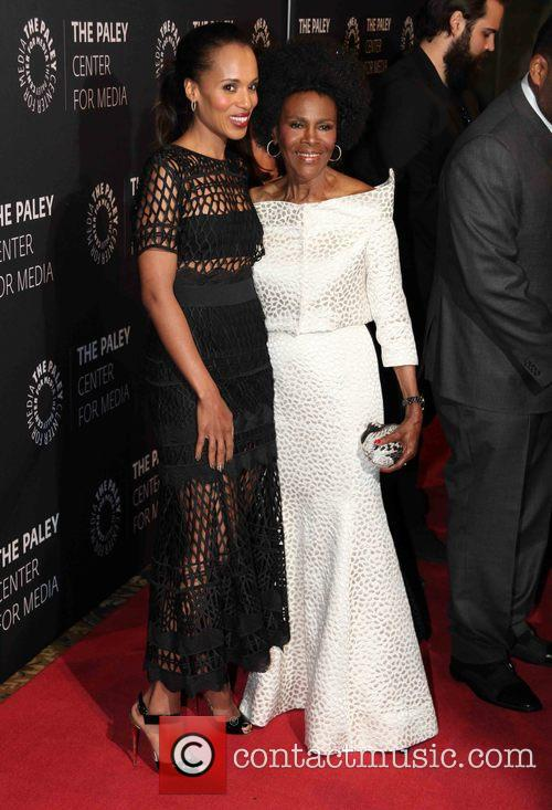 Kerry Washington and Cicely Tyson