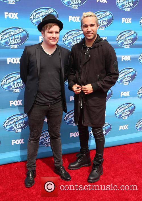 Patrick Stump and Pete Wentz 2