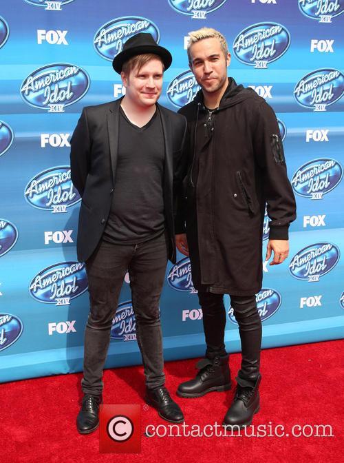 Patrick Stump and Pete Wentz 3