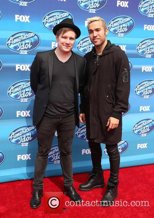 Patrick Stump and Pete Wentz 5