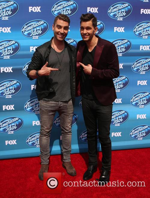 Nick Fradiani and Andy Grammer 5