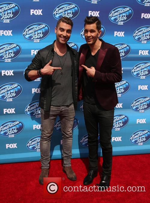 Nick Fradiani and Andy Grammer 1