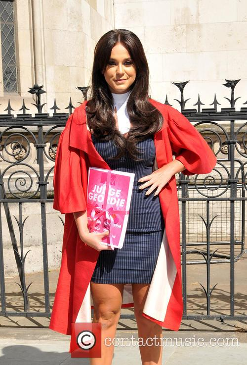 Vicky Pattison promotes 'Judge Geordie'