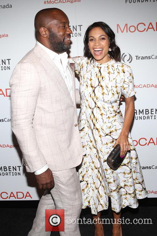 Malik Yoba and Rosario Dawson 4