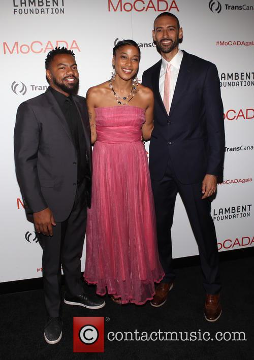 Phillip Agnew, Aja Monet Bacquie and James E. Bartlett 2