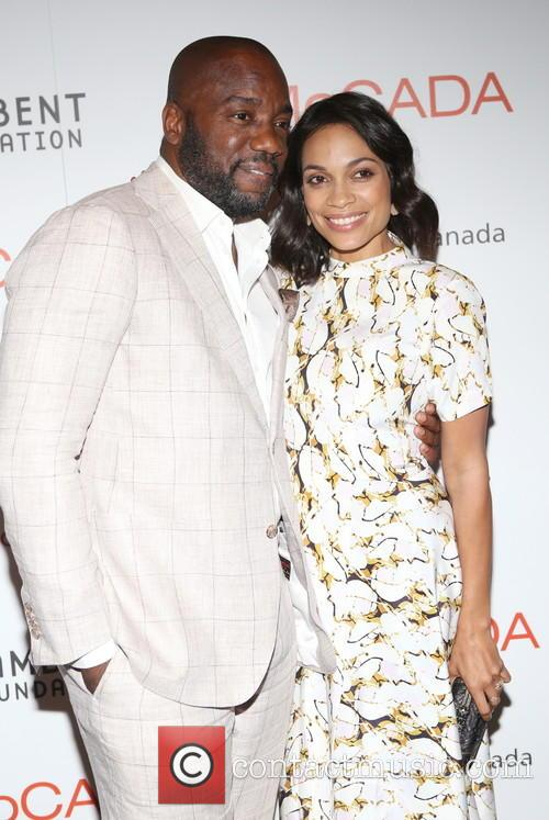 Malik Yoba and Rosario Dawson 5