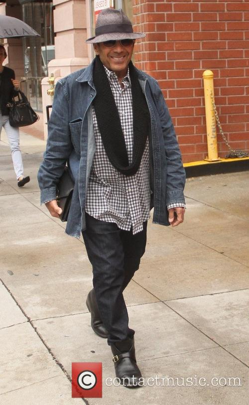 Paul Anka goes shopping in Beverly Hills