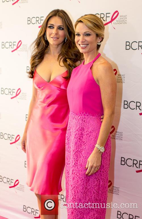 Elizabeth Hurley and Amy Robach 9
