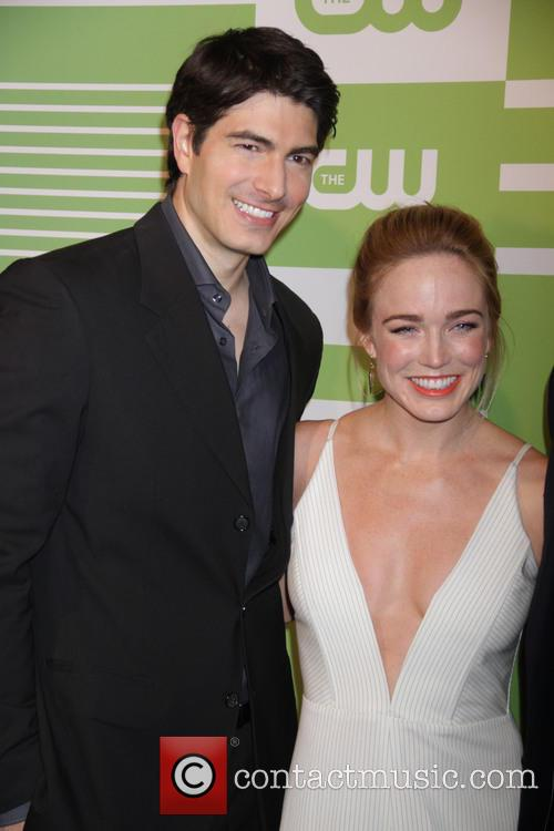 Brandon Routh and Caity Lotz 6