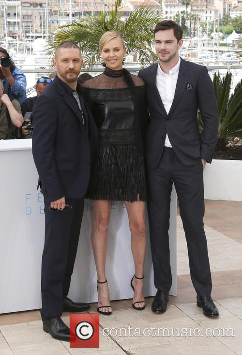 Tom Hardy, Charlize Theron and Nicholas Hoult 3