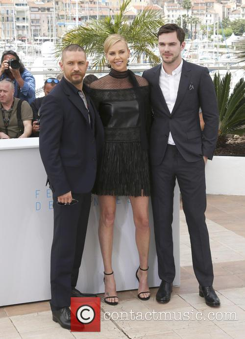 Tom Hardy, Charlize Theron and Nicholas Hoult 4