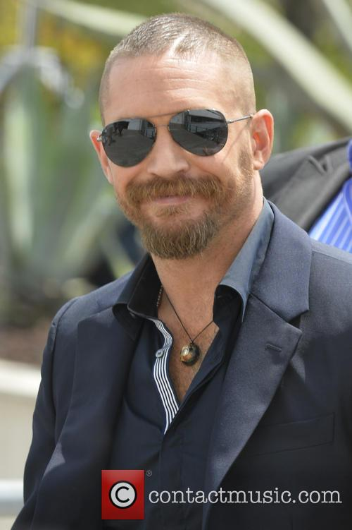Tom Hardy at Cannes